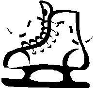an ice skate