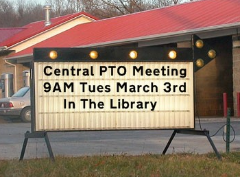 PTO Meeting March 3rd