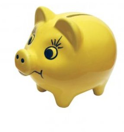piggy bank courtesy of hire things