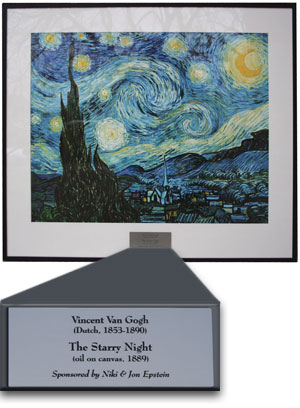 Starry Night After re-framing