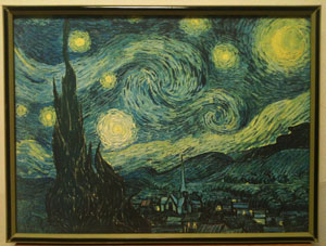 Starry Night Before re-framing